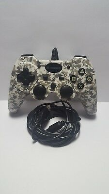 Snakebyte PS3 Wired Controller, Camo - Great Condition