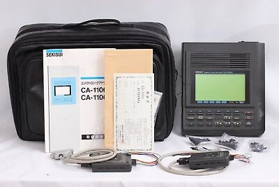 Sekisui 16 Ch Compact Logic Analyzer CA-1100A With Probes, Case