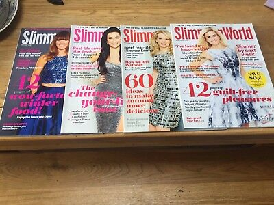 Slimming World Magazine Bundle X4