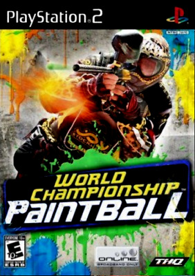 World Championship Paintball (Sony PlayStation 2, 2008) Complete