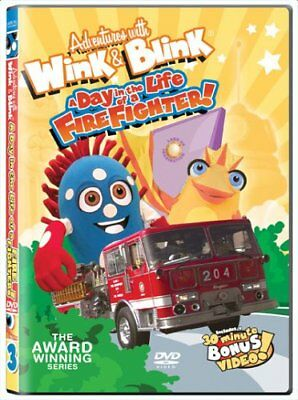 DVD - Adventures With Wink & Blink - A Day in the Life of a Firefighter!