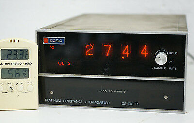 DORIC DS-100-T1 Platinum Resistance Thermometer 4-wire Nixie-Tube NL-5441-A