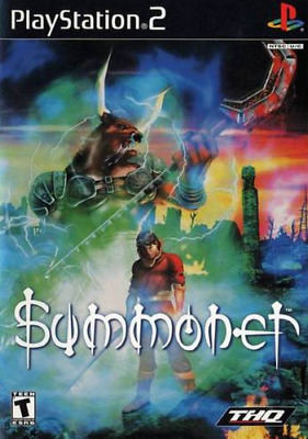 Summoner (Sony PlayStation 2, 2000) Complete