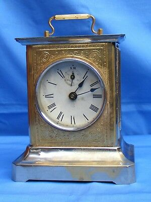 Antique Mauthe? Quarter Chiming Musical Mantle Clock, Gwo.