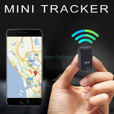 Mini Vehicle GPS Tracker Car Tracking Locator Device Smart Voice Record Magnetic