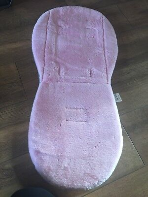 New 2way Egg Fur Seat Liner In Light Pink