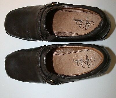 5f4c3685631 Life Stride Women s Beautiful Brown Slip On Loafers Shoes 6 M New Without  Box