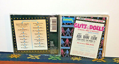 Guys & Dolls, CD 1991, Decca Original Cast, Musical Broadway Gold -  NM