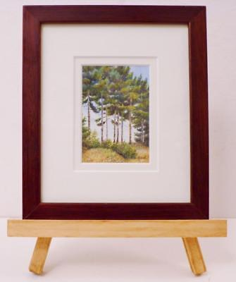 """Maine """" Landscape With Pine Trees """" Miniature - Janet Laird - Lagassee"""