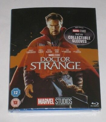 Doctor Strange Blu Ray + Collectible Sleeve New Sealed Official Limited