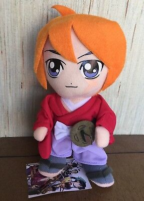 New With Tags Rurouni Kenshin Aniplex Plush Kenshin Himura Anime Red Purple