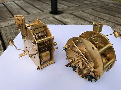 Pair of French Clock Movements