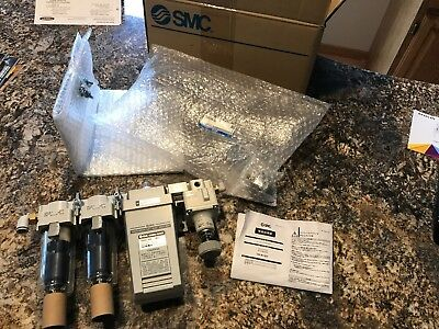 Smc Pneumatic Idg10V4-02C-X257 Membrane Air Dryer / Regulator Assembly