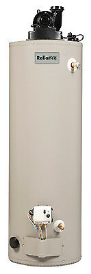 RELIANCE WATER HEATER CO Water Heater, LP Gas, Short Power Vent, 50,000 BTU, 40-