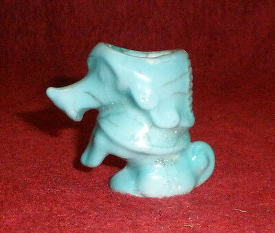 Pudel glas. antik 4,6 cm Art Deco/ poodle as vesta case antique Art Deco