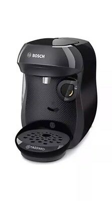 Bosch Tassimo Happy TAS1002GB Coffee Machine Espresso Cappuccino Maker in Black