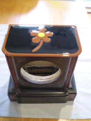 Antique Marble And Slate French Clock Case
