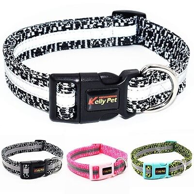 Small Medium Large Dog Collars Pet Cat Puppy Cloth Collar Neck Adjustable Buckle