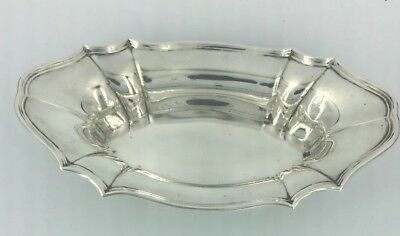 Mappin & Webb Silver Dish Solid Sterling Hallmarked Antique 1911