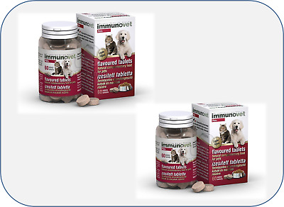 IMMUNOVET Chewable Tablets Cats & Dogs 120 capsules Veterinary equivalent Avemar