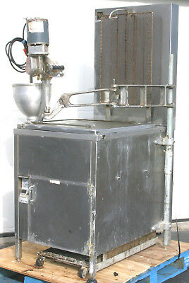 BAXTER Kettle Gas Donut Fryer + BELSHAW F Dropper + Shortening Filter Unit