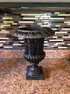 Antique cast iron Urn planter french