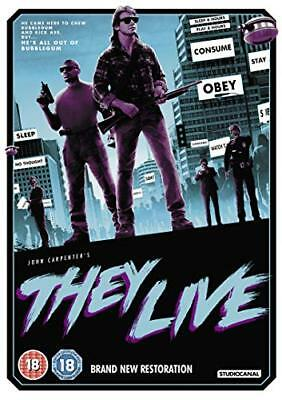 They Live  with Roddy Piper New (DVD  2018)