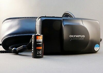 Olympus µ mju Zoom 35-70mm Point and Shot Camera Tested and Working