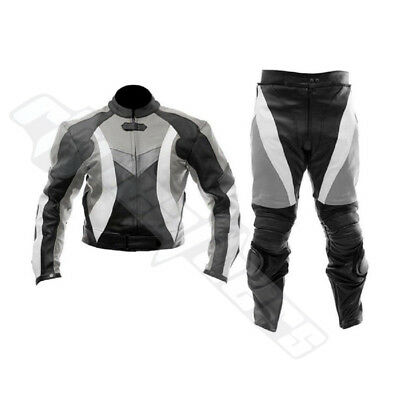 NEW Motorcycle Motorbike Racing Leather Suit XS TO 4XL ALL SIZES AvailABLE 2018