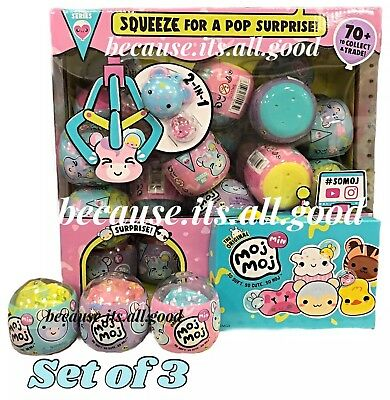 Moj Moj Min Capsule Squeeze For A Pop Surprise Squishy Collectible Toy New HTF