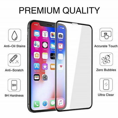 10D Full Cover Tempered Glass Screen Protector For iPhone 7 8 7plus 8plus XS MAX