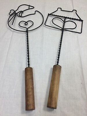 Metal Wall Art Decor Kitchen/ Goose and House with Handles