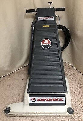 """Advance Nilfisk Carpetriever 28Xp 28"""" Wide Commercial Vacuum With Power Brush"""
