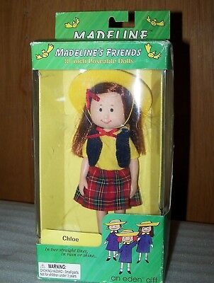 """1998 Madeline And Friends Chloe Poseable Doll 8"""""""