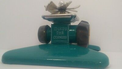 Square spray Sprinkler metal blue new
