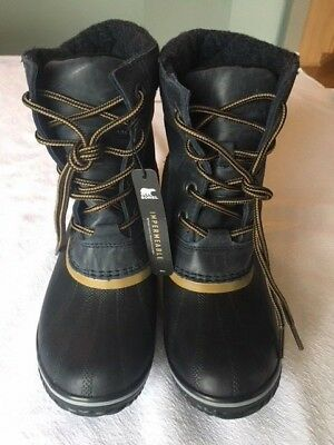 6ee1be261a02 Sorel Womens Slimpack II Lace Duck Boots NWT - Size 7M Collegiate Navy  160