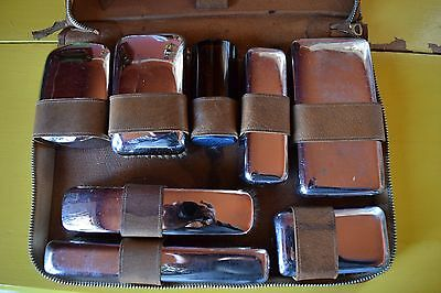 Vintage Cross Men's Toiletries Travel Kit~Made In England
