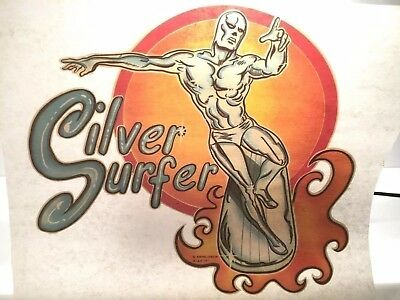 Silver Surfer Professional level Vintage T-shirt Iron-on by Marvel L&H