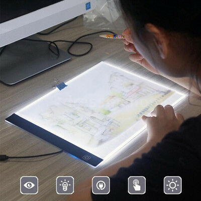 A4 LED Painting Tracing Board Copy Pad Panel Drawing Tablet Art Artcraft Stencil