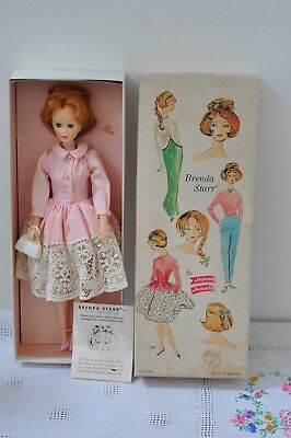 Original Vintage Madame Alexander Brenda Starr doll tagged With Box VGC