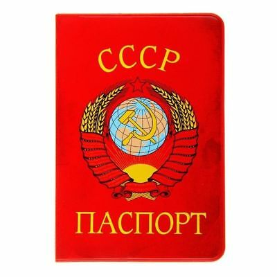 Cover for a passport USSR Red