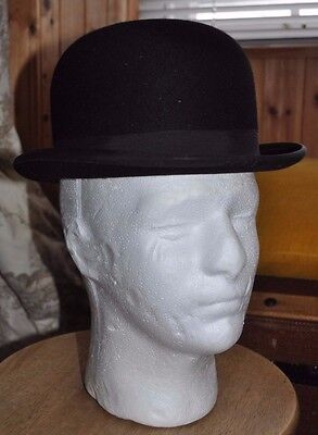 0e144e0b4b1 LOCK   CO Vintage Bowler Hat. Inner Circumference  22