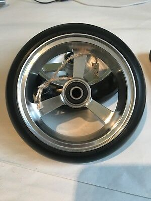 "Pair Of Wheelchair Or Power Chair Castor Wheel 5 Inch Alloy 5"" X 1.4"""
