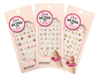 [Etude House] Play Nail Sticker Jewel Collection (3 pcs)