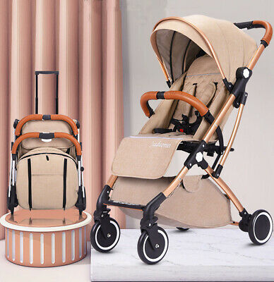 Lightweight Baby Stroller Pram Pushchair Fold Buggy Travel Carry on Plane