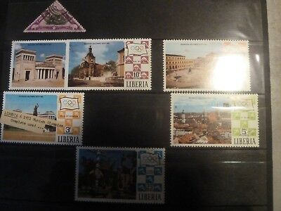 Stamps from LIBERIA  pre 80's used and mint .