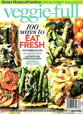 New 2018 Better Homes and Gardens Veggie-full Special BHG Cookbook Recipes