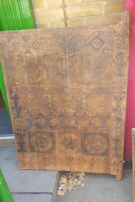 Antique Wooden tuareg Door