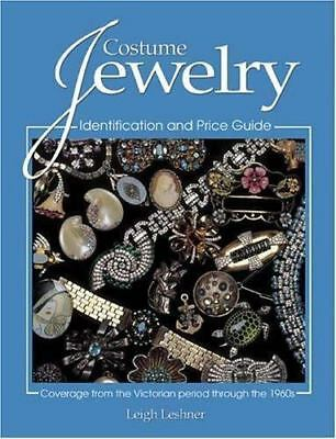 Costume Jewelry : A Price and Identification Guide  (2004, PB) Very Good