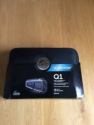 Cardo Scala Rider Q3 Motorcycle Bluetooth Headset